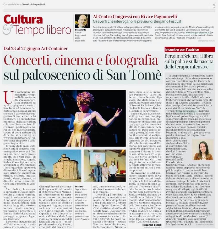 Corriere della Sera - Giugno 2021